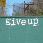 「諦める」の再定義。事を成すには諦めることが必要だという話