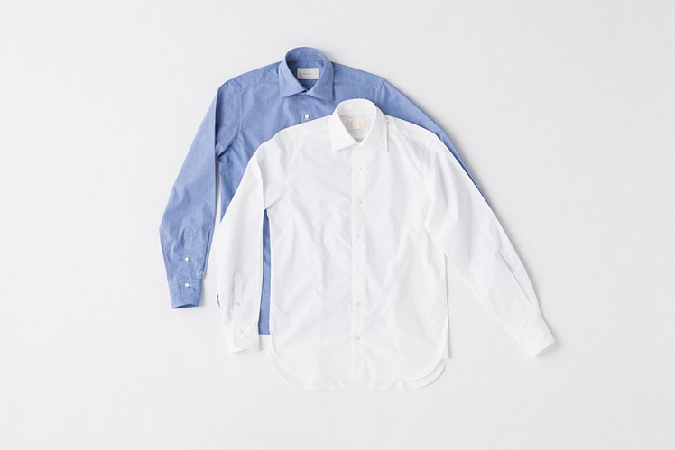 wide collar shirt