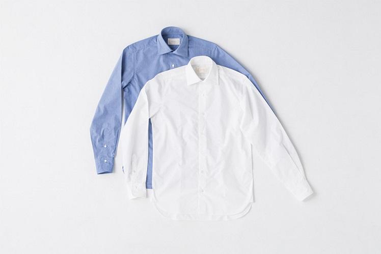 wide collar shirt