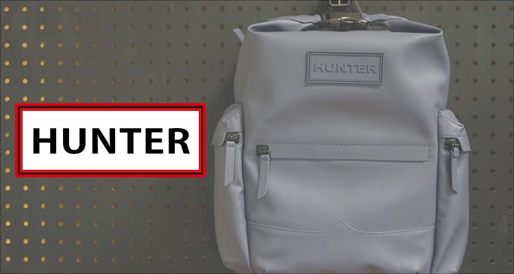 HUNTERのレザーバックパックを購入! 機能・デザインともに完璧なリュックだ!