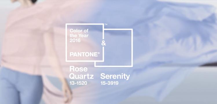 2016年の流行色はジェンダーレスを反映したペールトーン2色。