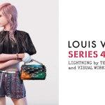 『ルイヴィトン』春夏の広告モデルにFF13の主人公ライトニングを起用