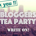 【満員御礼】『BLOGGERS TEA PARTY』盛況にて終了!そしてオンラインサロンを始めます!