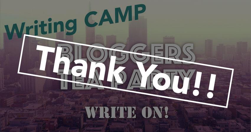 『Bloggers Writing CAMP』大盛況! みんなで執筆は楽しかった!