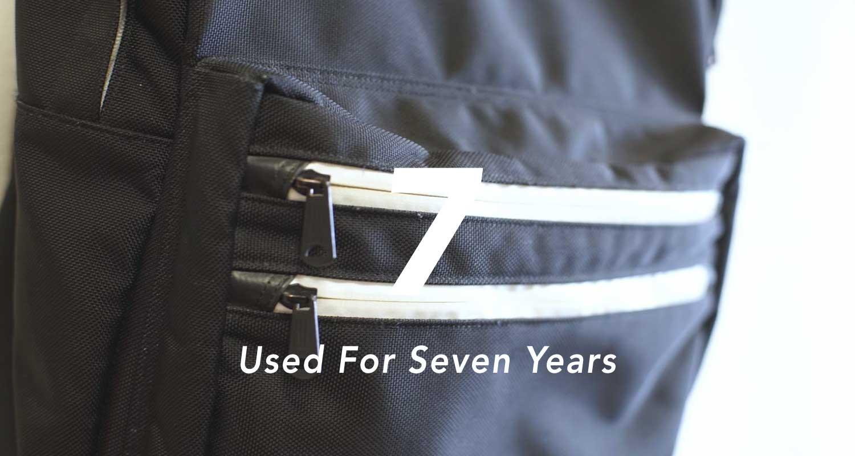 5年以上愛用しているアイテム#2 White Mountaineeringのバックパック