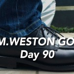 J.M.WESTON #641 GOLF 履き慣らし記録【3ヶ月目】