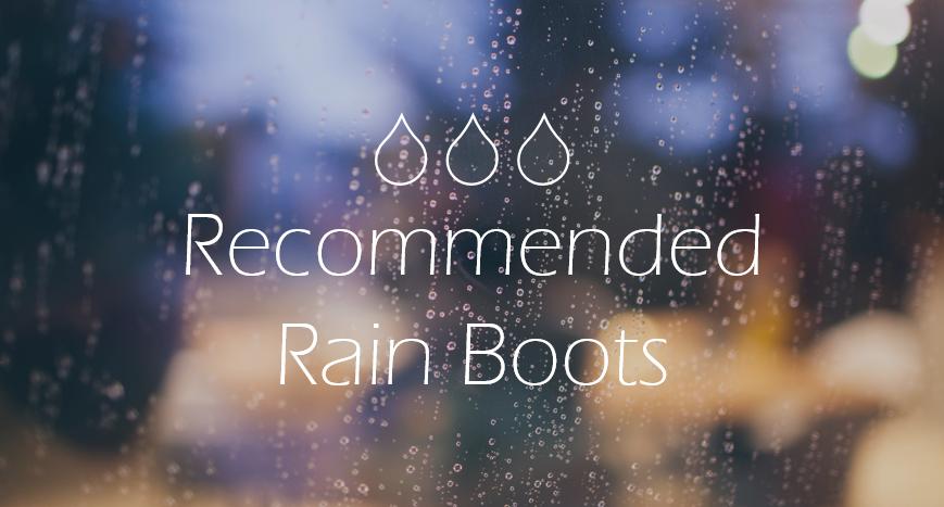 【メンズ】おしゃれに履けるレインブーツ10選まとめ。1足あれば雨が待ち遠しくなるかも。