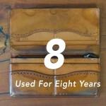 5年以上愛用しているアイテム#3 foot the coacherの長財布