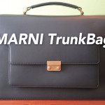 物を選びきるということ。MARNIのメンズ トランクバッグを購入しました。
