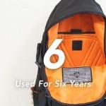 5年以上愛用しているアイテム#4 Gaspard Yurkievichのバックパック