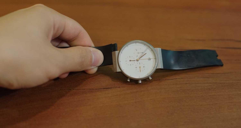 Jacob Jensenの腕時計のバンドは壊れたらNORDIC Feelingで交換できます。
