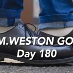 J.M.WESTON #641 GOLF 履き慣らし記録【6ヶ月目】