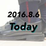 [2016.8.6]格好良いISSEY MIYAKEのソックスでワンポイント