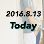 [2016.8.13]UNIQLOのリネンチェックシャツを腰巻き