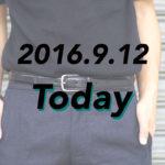 [2016.9.12]STEPHAN SCHNEIDERのワイドスラックスでタックインスタイル