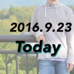 [2016.9.23]JAMES PERSEのパーカー着て北海道!