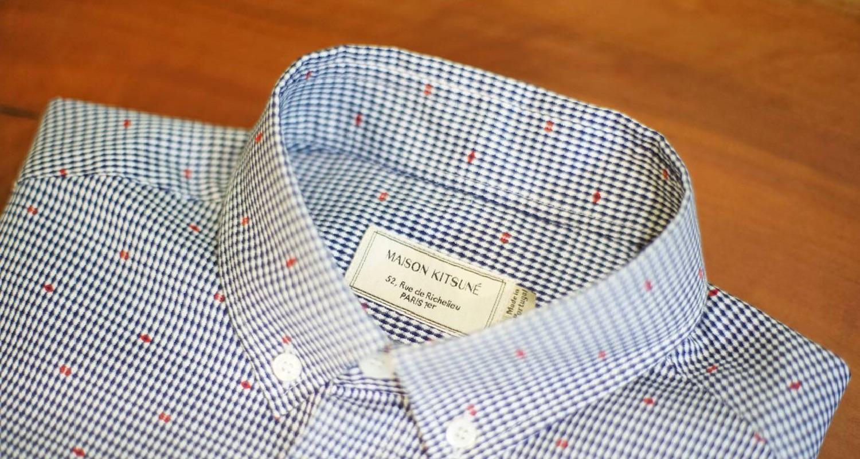 ちょうどいいシャツ 「MAISON KITSUNÉのボタンダウンシャツ」