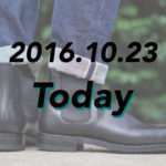 [2016.10.23]Crockett & Jonesのサイドゴアブーツで作る足元が、完全に大人のそれ。