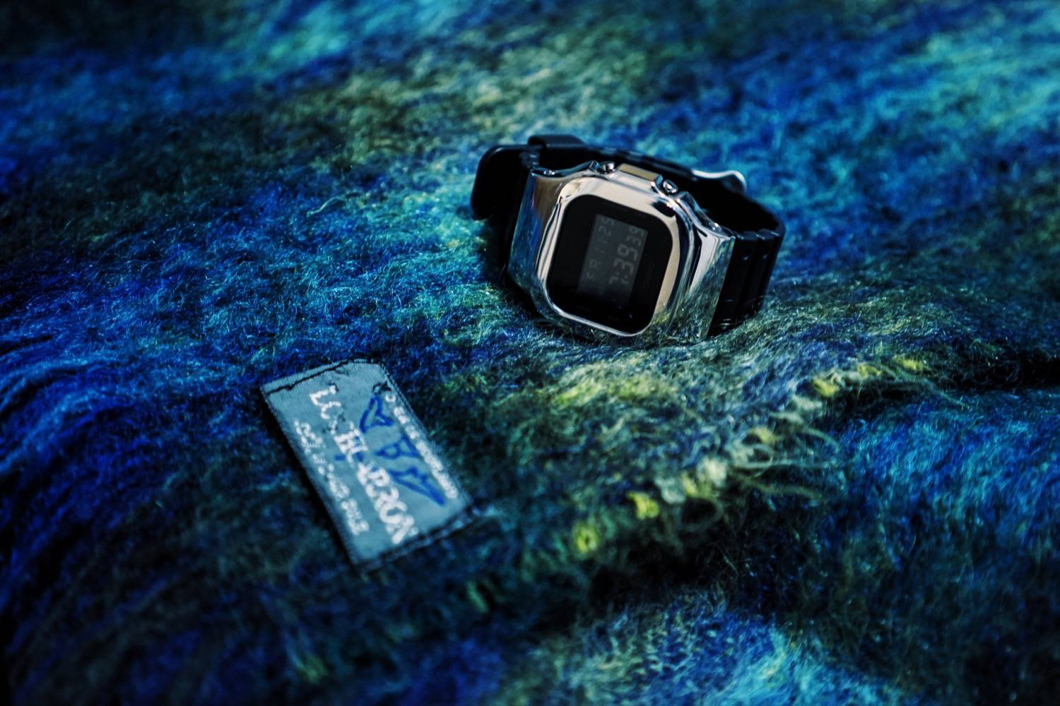 Watch:DAMUE Custom G-SHOCK