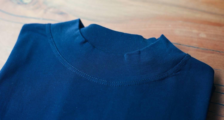 時を経ても褪せないデザイン。イタリア軍ヴィンテージのモックネックセーター。