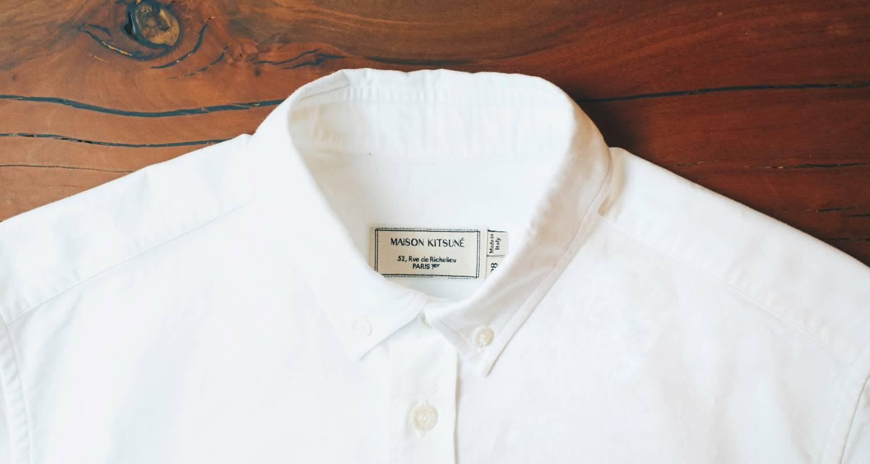 着て初めて分かる魅力。着ると忘れられない魅力。「MAISON KITSUNÉのオックスフォードシャツ」