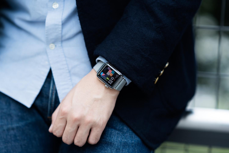 Apple Watchをおしゃれに付けるための心得 Dress Code ドレスコード メンズファッションブログ