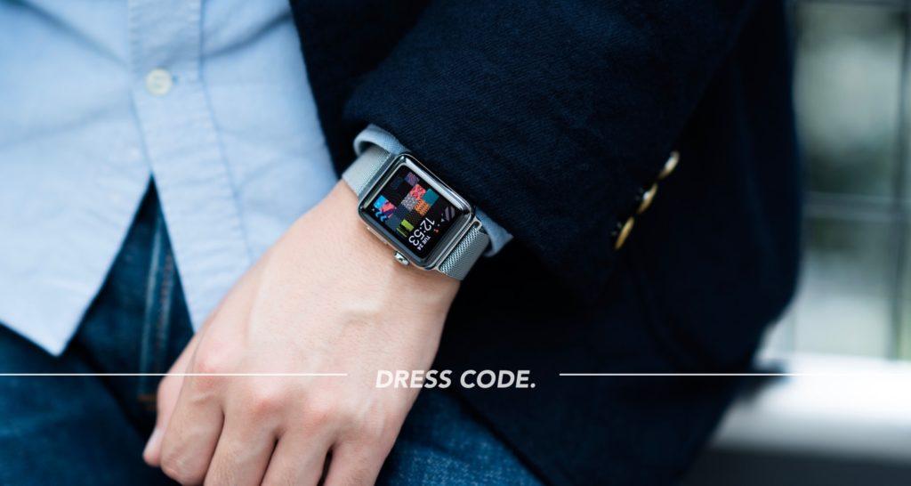 Apple Watch Series 3をお洒落に付けるための心得。