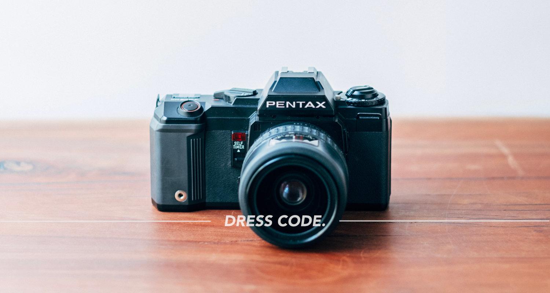 デジタルカメラ全盛の時代に、フィルムで写真を撮るぼくなりの意味。
