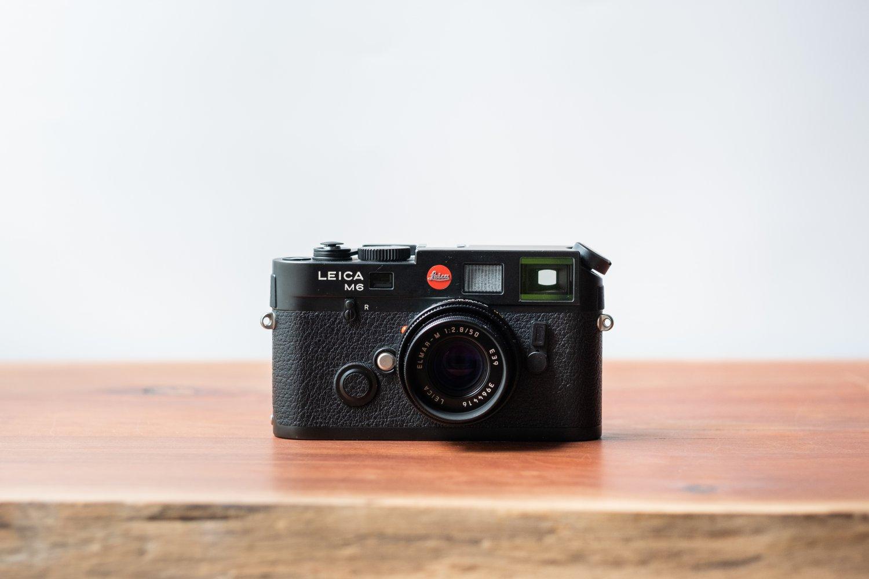 Leica M6 Schwarz Foto & Camcorder