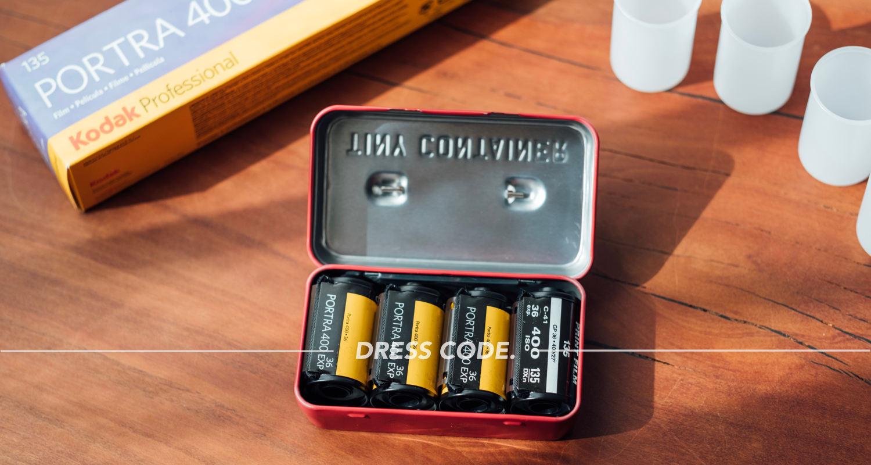 35mmフィルムの保管・持ち運びに。HIGH TIDEのTINY BOXが便利。