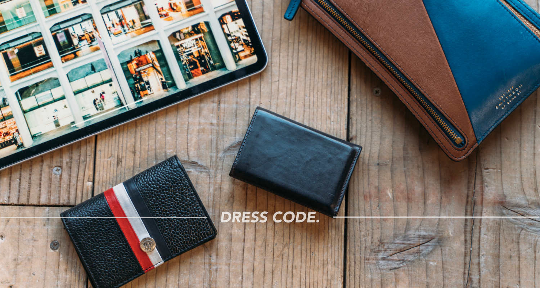 来たるキャッシュレス時代に、長く愛せるコンパクトな財布「PRESSo」を。