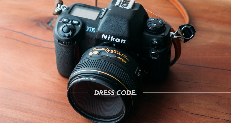 フィルムAFカメラ NIKON F100を購入。デジタル的な操作感のフィルムカメラを使うということ。